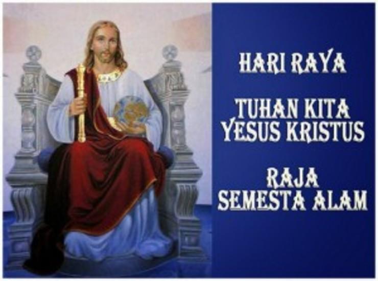 Image result for Kristus Raja Semesta Alam
